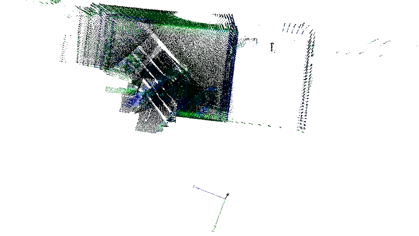 Tutorial: Depth Image and Point Cloud Structures I/O - Normal ICP
